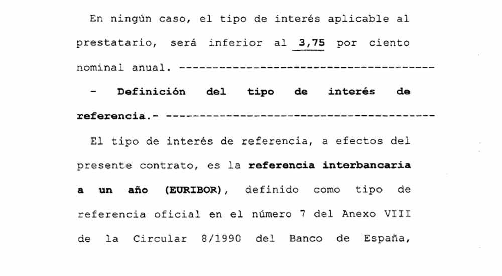 Abogados de cl usula suelo en m laga lvarez ramos abogados for Precio abogado clausula suelo